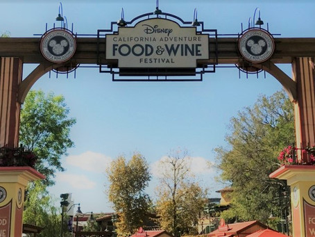 Food & Wine Festival Review at Disney California Adventure