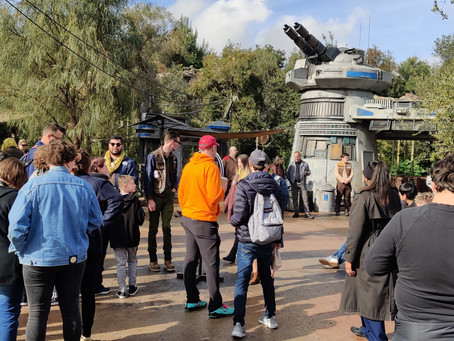 Opening Day of Rise of the Resistance in Star Wars Galaxy's Edge in Disneyland