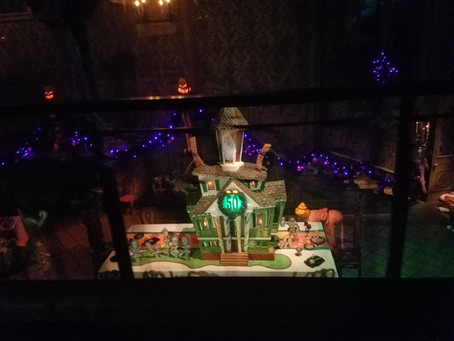 Haunted Mansion 50th Anniversary Gingerbread House--Love it