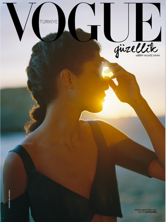 Assisting Konca Aykan on Vogue Turkey Beauty May 2019