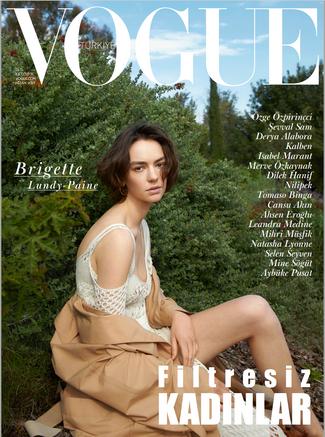 Assisting Konca Aykan on Vogue Turkey April 2019
