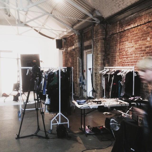 Instagram - Today's set @shoreditchstudios #styling #stylist #ready #backstage #shoot #photoshoot #photography #shoreditchstudios #studio xx