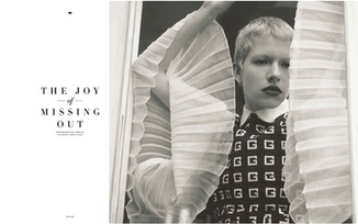 Assisting Konca Aykan on 212 Magazine x Gucci special, SS20