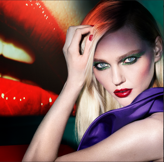 """Assisting Sissy Vian on LANCOME x Mert & Marcus """"After Dark"""""""