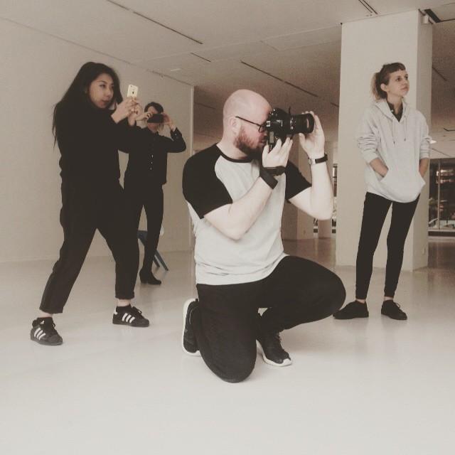 Teamwork #alexpengelly #alexpengellyknitwear #shoot #onset #onshoot #RCA #teamwork #photography #philiptrengove #limlee #modellimlee #chiesa