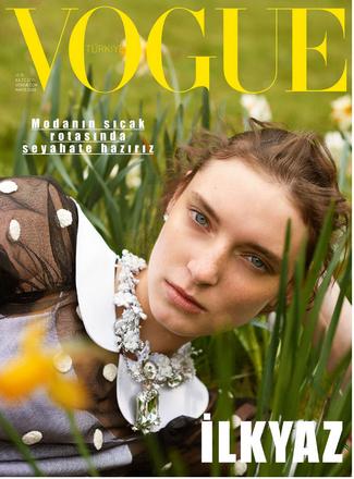 Assisting Konca Aykan on Vogue Turkey May 2019