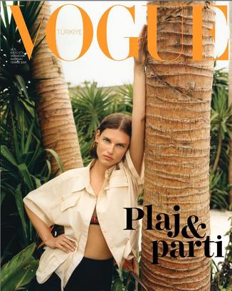 Assisting Ece Ogutogullari for Vogue Turkey June/July 2019