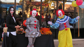 October 23- November 5 – Downtown with Anna-liza Anderson: 'Spooktacular' family fun downtown, Oct31