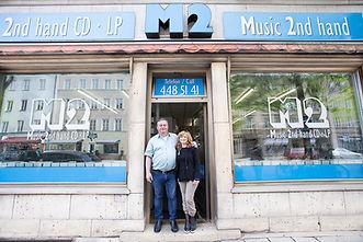 Aussenansicht von M2 Music Secondhand Ankauf von Schallplatten Records Sammlungen Klassik in München, Bayern
