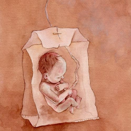 Baby Brewing // Original Watercolour