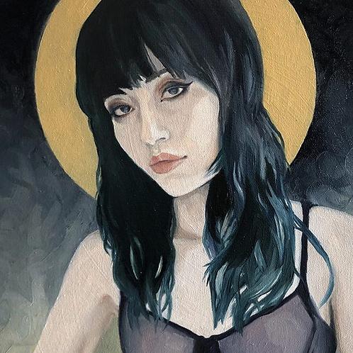 Goth Charlotte    Original Painting