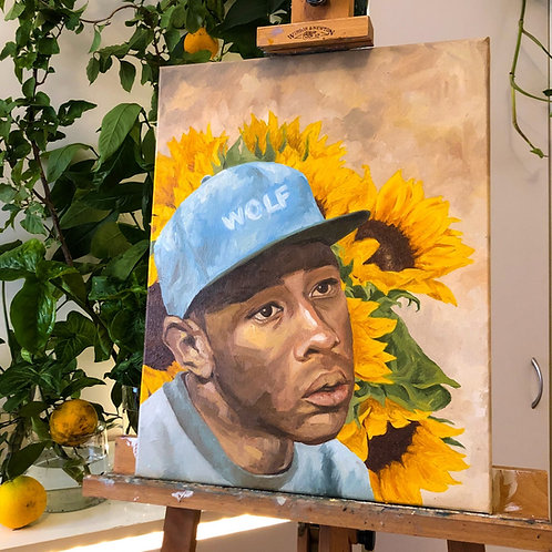 Tyler, the Creator // Original Painting