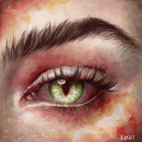 Demon // Original Watercolour