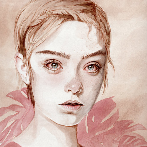 Never Innocent // Original Watercolour