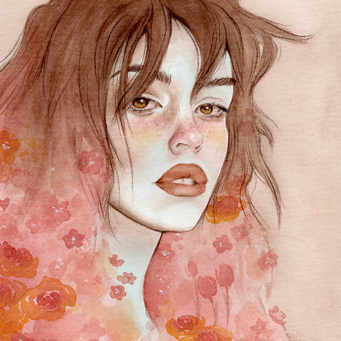 Warm // Original Watercolour