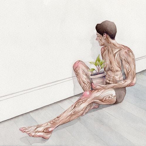 The Introvert // Original Watercolour
