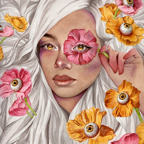 Poppies // Original Watercolour