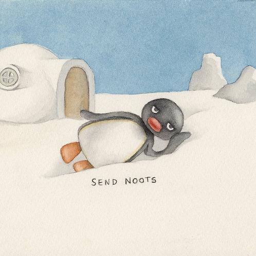 Send Noots // Original Watercolour