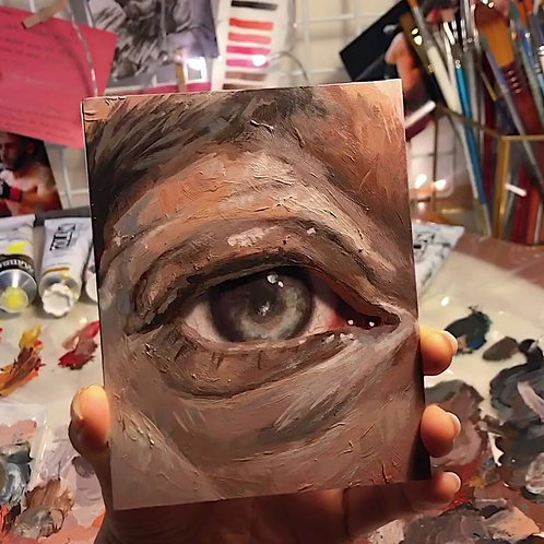 Eye // Original Painting