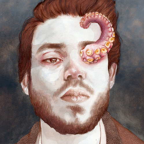 Tentacle // Original Watercolour