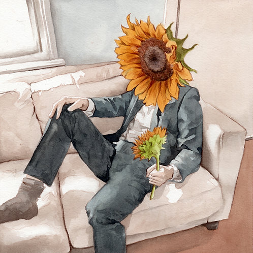 Sunflower || Fine Art Print