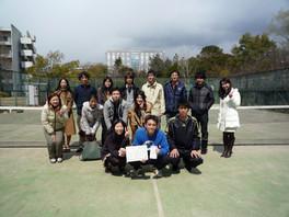 薬学部講座対抗テニス大会 優勝しました!!