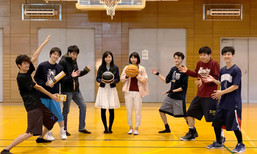 優勝!勝利の女神たちです。(講座対抗バスケ大会@阪大吹田キャンパス体育館)