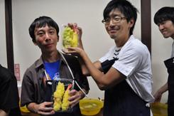 そんないっぱい天ぷら食べたら胃もたれするって。(ラボ旅行@食品サンプル工場)