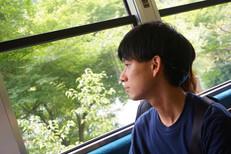 帰り路の表情はどこか寂しげ(ラボ旅行@京都2日目)