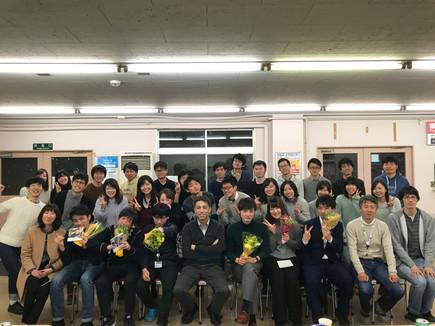 ご卒業おめでとうございます!@追いコン