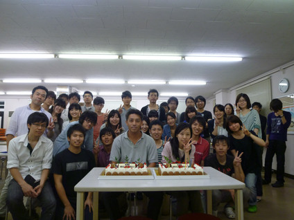 Happy birthday to Prof. Mizuguchi ♪♪