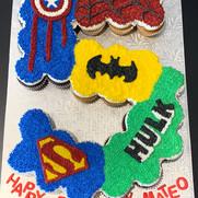 Superheros Cupcakes | Munch it PASTRY SHOP