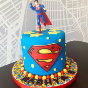 Superman Cake | Munch it PASTRY SHOP