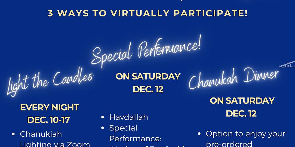 Eight Nights of Etz - Chanukah Online Celebration