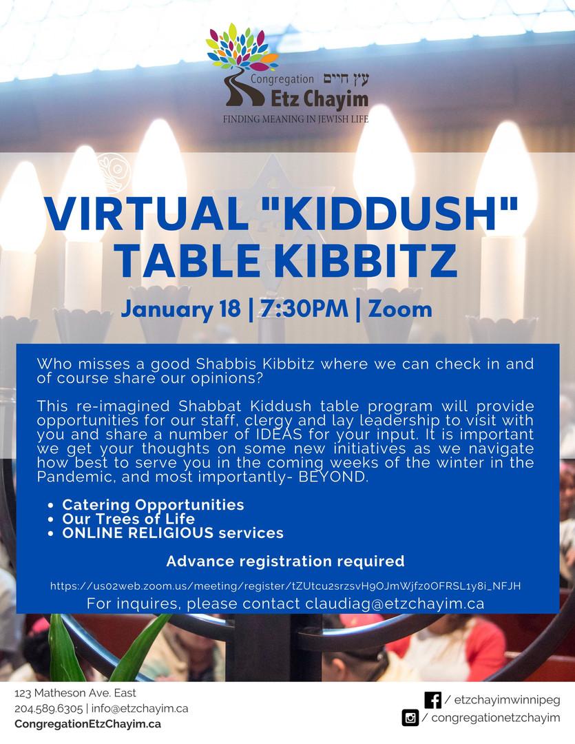 Virtual Table Kibbitz