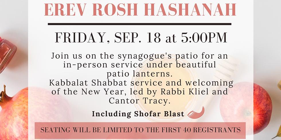Kabbalat Shabbat Outdoors