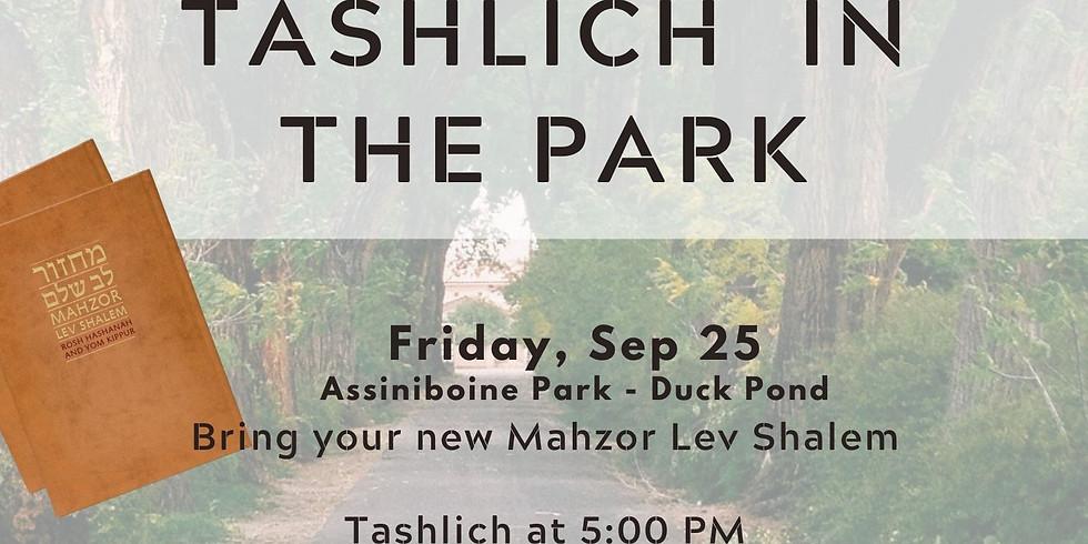 Tashlich in the Park