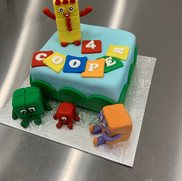 Number Blocks Cake | Munch it PASTRY SHOP