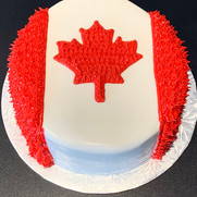 Canada Day Cake | Munch it PASTRY SHOP