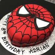 Spiderman Cake | Munch it PASTRY SHOP