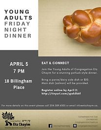 Young Adult Shabbat Dinner 6 - JPG no Li