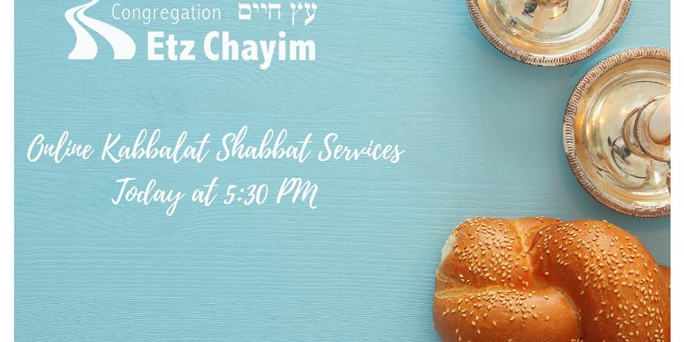 ONLINE Kabbalat Shabbat
