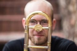 trombone face