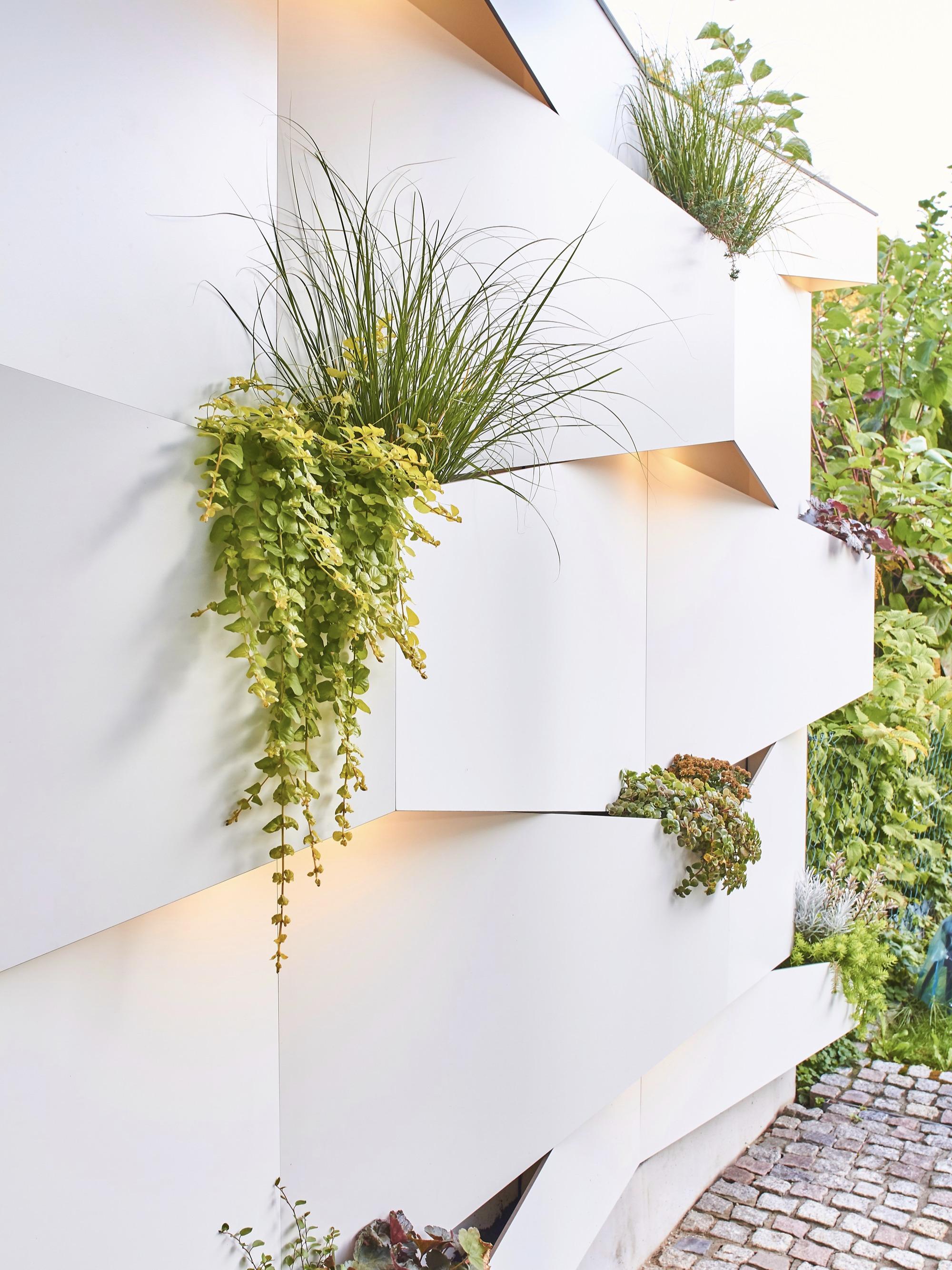 Gartenabtrennwand