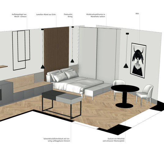 Grundrissdesign 3D