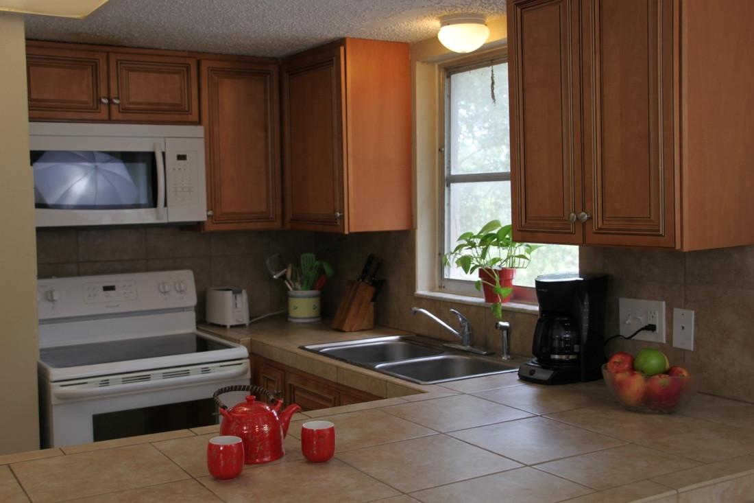 Parkside Apartments Kitchen