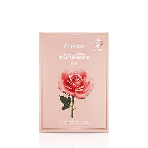 JMSOLUTION  resplandor luminoso Flor Reafirmante Rose Mask