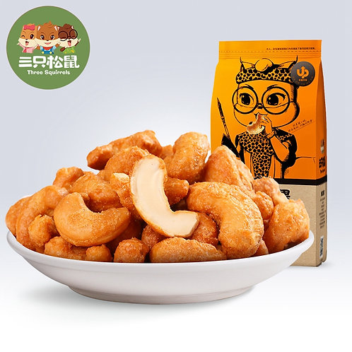 Three Squirrles Grilled cashew 185G