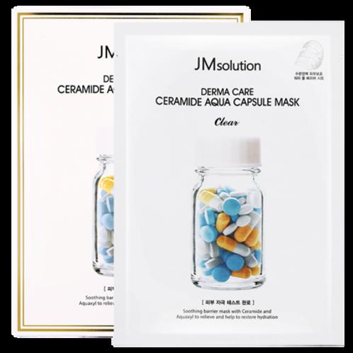 JMSOLUTION  Derma Care Ceramide Aqua Capsule Mask Medi