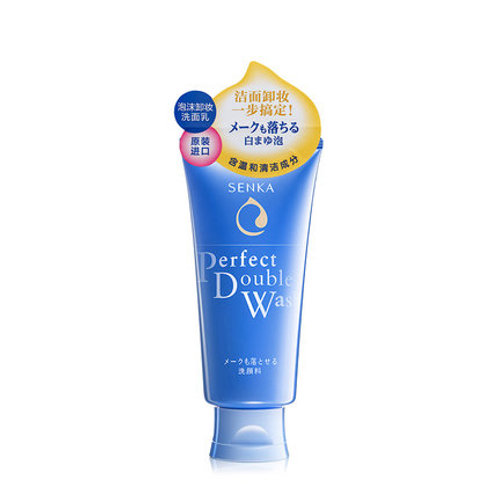 Shiseido Senka Perfect Double Wash 120g